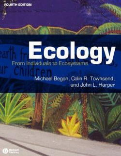 Ecology: From Individuals to Ecosystems (4th Edition)