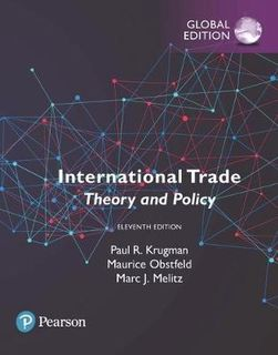 International Trade: Theory and Policy, Global Edition (11th Edition)