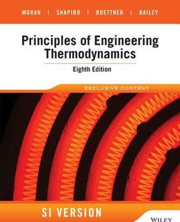 Principles of Engineering Thermodynamics (8th Edition)