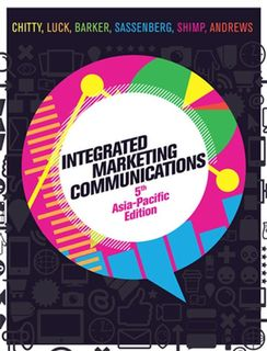 Integrated Marketing Communications with Online Study Tools (5th Edition)