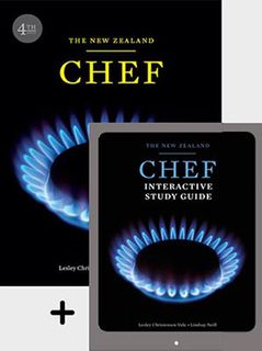 New Zealand Chef + Interactive Study Guide ValuePack (4th Edition)