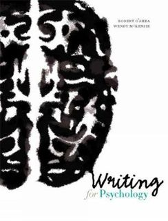 Writing for Psychology (6th Edition)