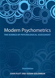Modern Psychometrics: The Science of Psychological Assessment (3rd Edition)