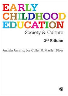Early Childhood Education: Society and Culture (2nd Edition)