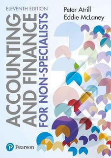 Accounting and Finance for Non-Specialists with MyAccountingLab (11th Edition)