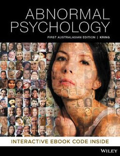 Abnormal Psychology (1st Edition)