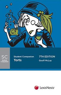 Butterworths Student Companion: Torts (7th Edition)