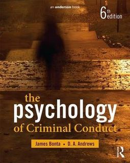 Psychology of Criminal Conduct (6th Edtion)