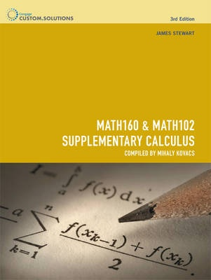 MATH160 Mathematics 1 & MATH102 Supplementary Calculus 1 (3rd Edition)