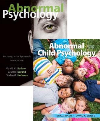 Abnormal Psychology: An Integrative Approach (8th Edition) + Abnormal Child Psychology (7th Edition)
