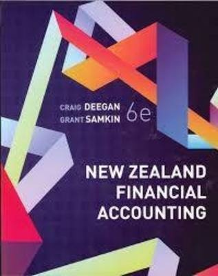 New Zealand Financial Accounting (6th Edition)