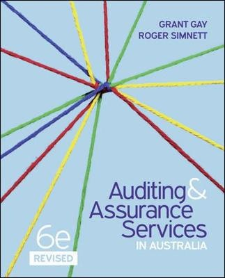 Auditing & Assurance Services in Australia (includes Print, Connect, Learnsmart) (6th Edition)