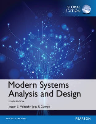 Modern Systems Analysis and Design, Global Edition (8th Edition)