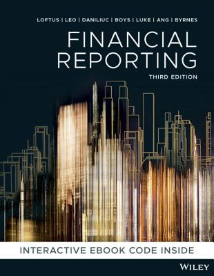 Financial Reporting (3rd Edition)