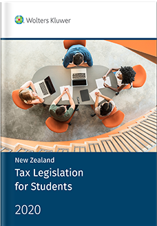 New Zealand Tax Legislation for Students 2020 (2 Volumes)