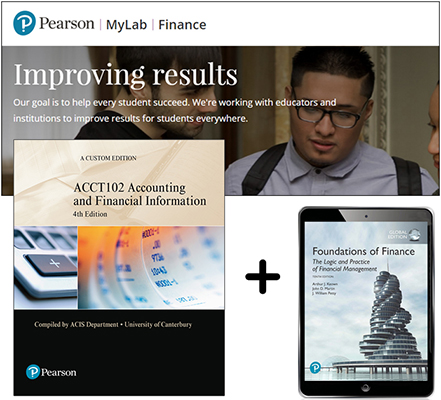 ACCT102: Accounting and Financial Information + MyLab Finance with Pearson eText (4th Edition)