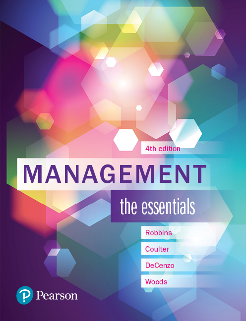 Management: The Essentials (4th Edition)