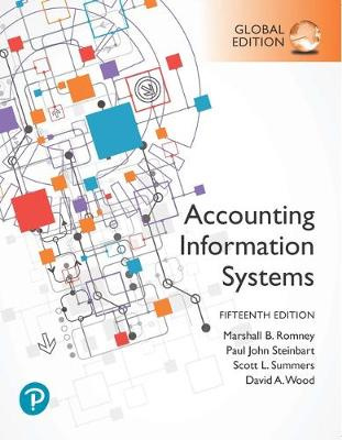 Accounting Information Systems, Global Edition (15th Edition)