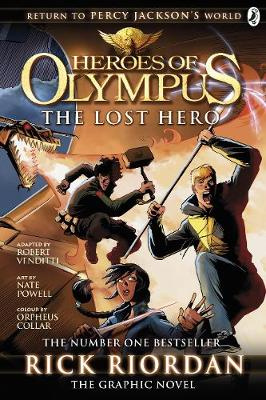 Heroes of Olympus #01: The Lost Hero (Graphic Novel)
